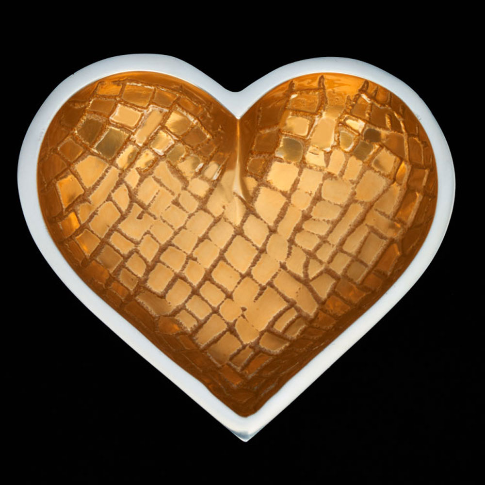 Croco Gold with Heart Spoon