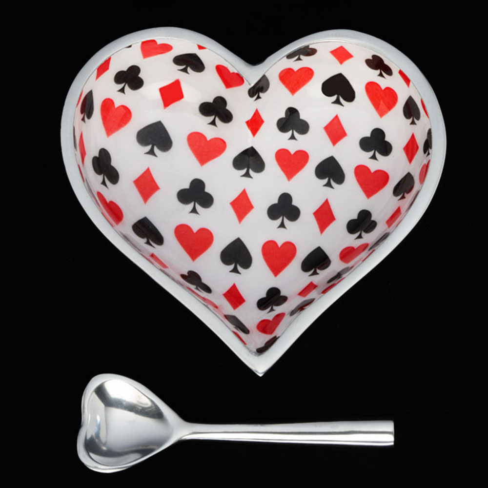 Card Heart with Heart Spoon