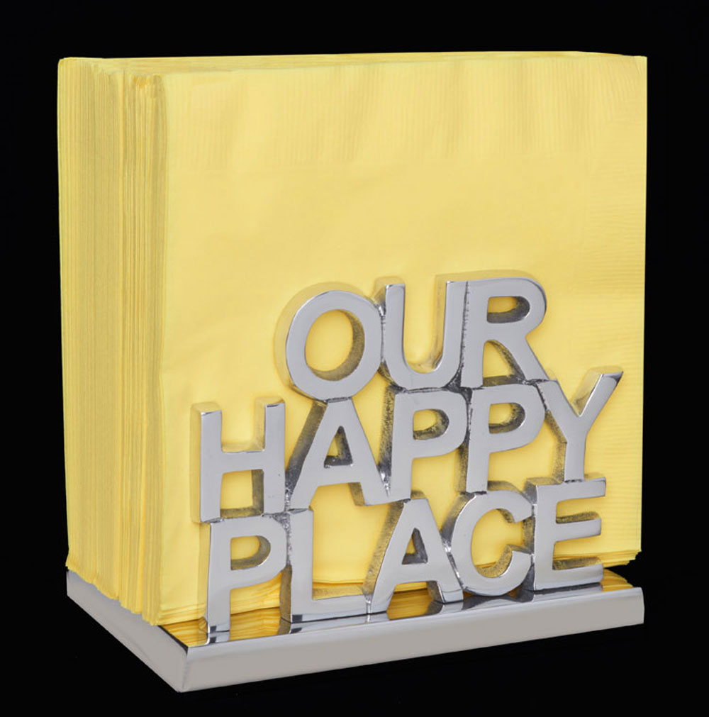 Happy Nappy Napkin Holder-Our Happy Place