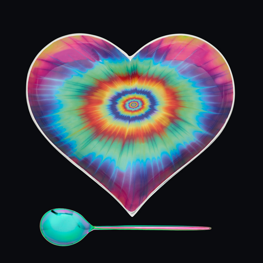Large Groovy Heart with Groovy Spoon