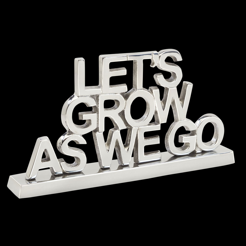 Lets Grow As We Go