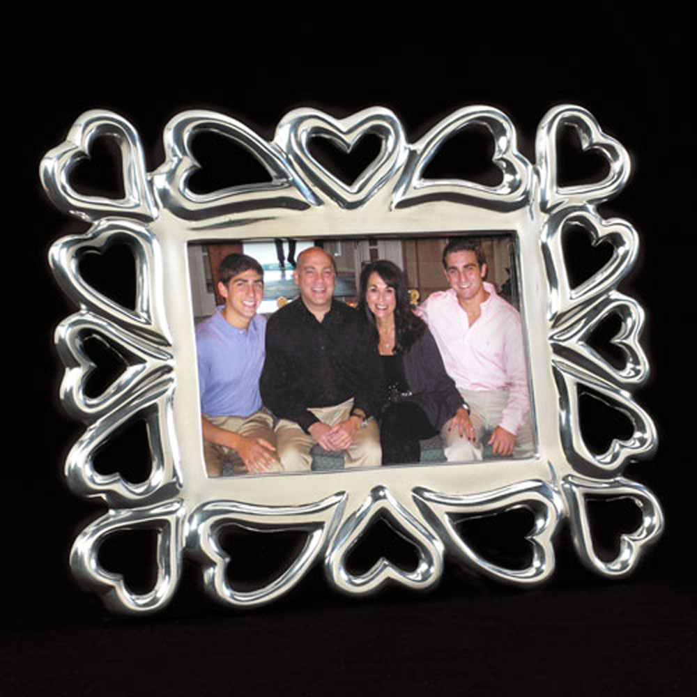Heart-to-Heart Photo Frame