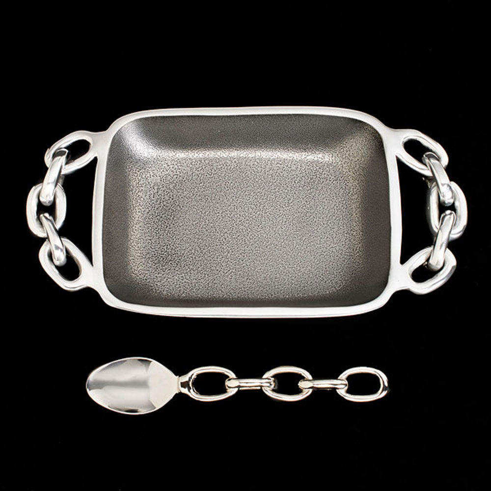 Linky Dish with Spoon