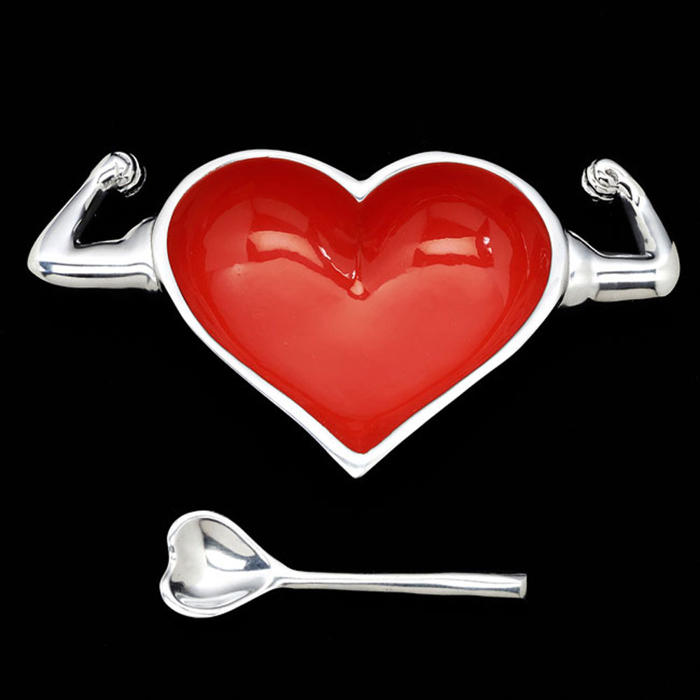 Healthy Heart with Heart Spoon