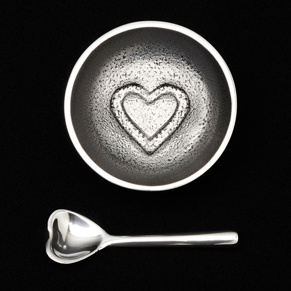 Dot Heart with Heart Spoon