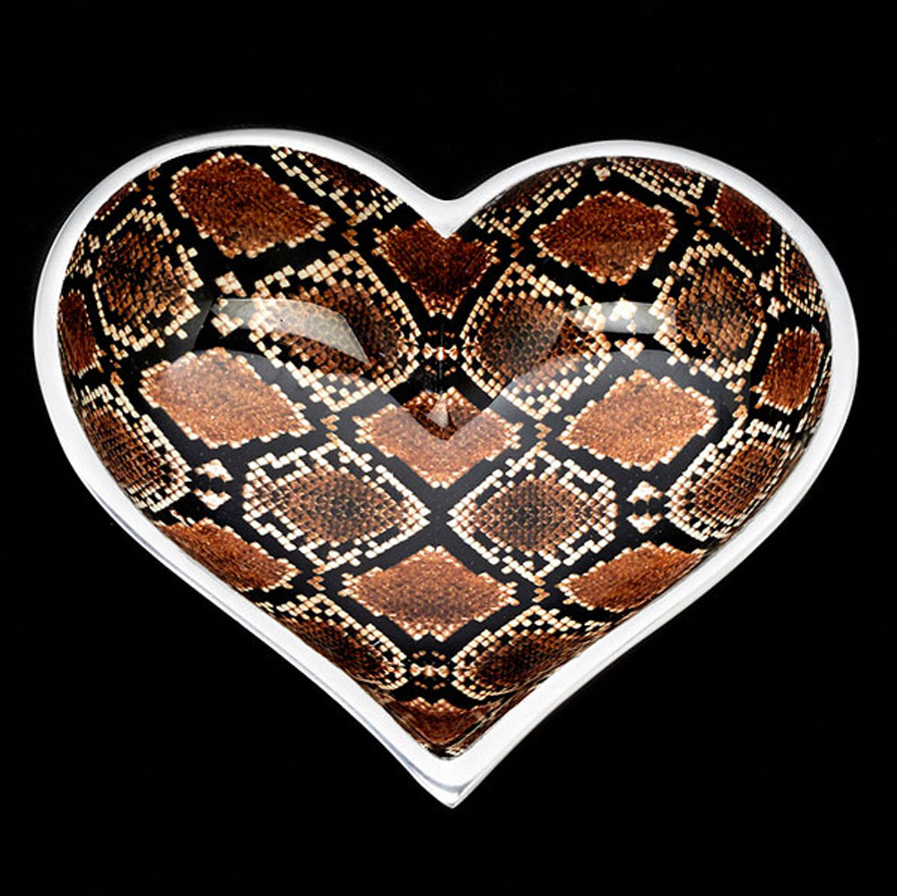 Wild Snake Heart with Heart Spoon