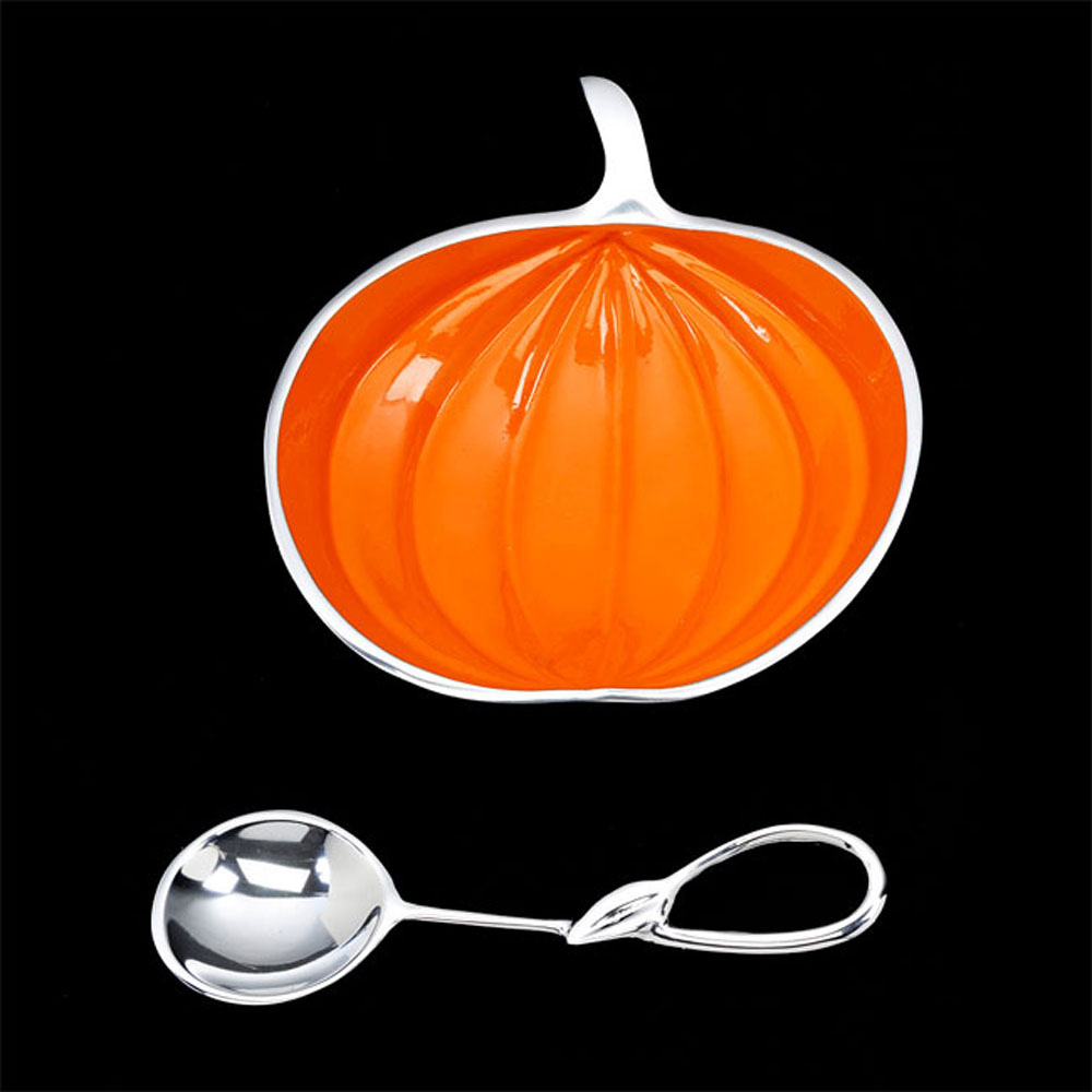 Lil Pumpkin with Spoon- Large