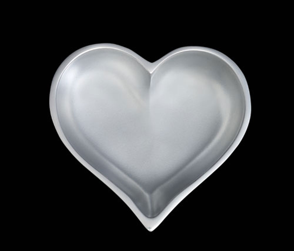 April Diamond Heart With Heart Spoon