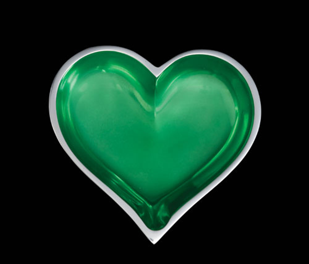 May Emerald Heart With Spoon